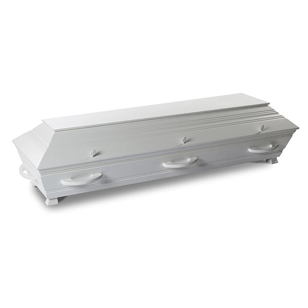 Standard - klassisk hvitmalt kiste